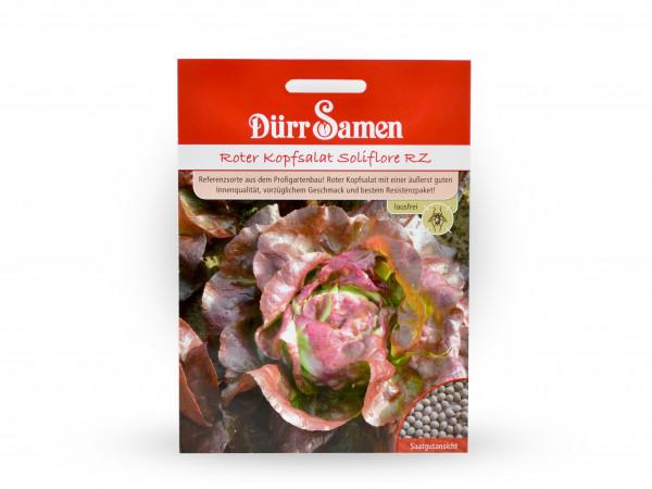Dürr Samen - Roter Kopfsalat Soliflore RZ
