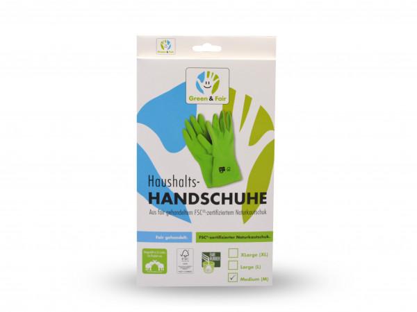 Gummihandschuhe Green&Fair Naturkautschuk M