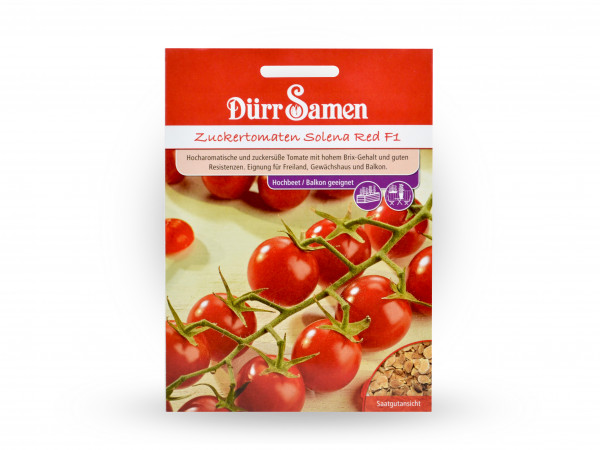 Dürr Samen - Zuckertomaten Solena Red