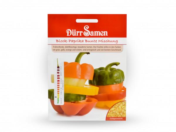 Dürr Samen - Paprikamischung blockiger Früchte