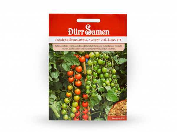 Dürr Samen - Tomaten Sweet Million
