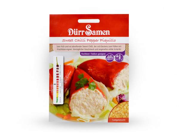 Dürr Samen - Sweet Chilli Pepper Piquillo