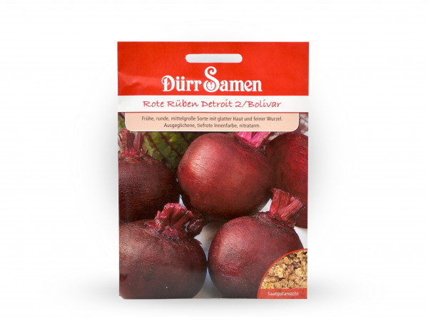 Dürr Samen - Rote Rüben Detroit/ Bolivar