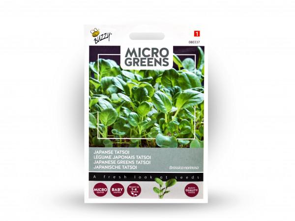 Buzzy Microgreens Japanische Tatsoi
