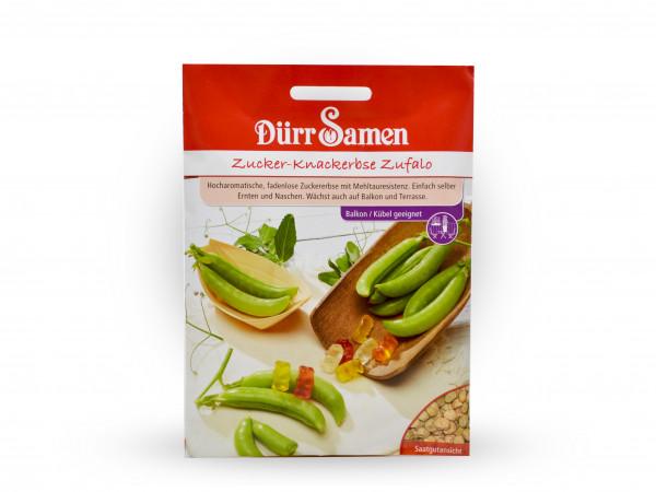 Dürr Samen - Zucker-Knackererbsen Zufalo