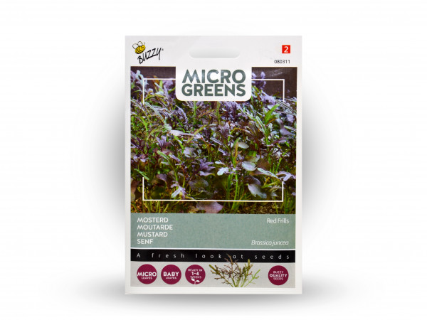 Buzzy Microgreens Senf red Frills