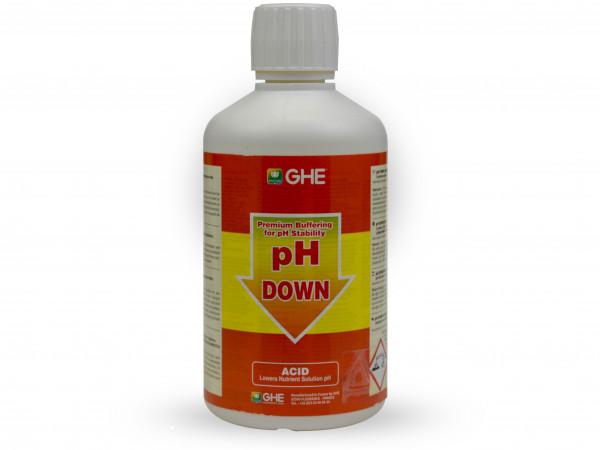 GHE - pH down 0,5L