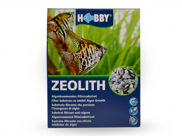 Filtersubstrat Hobby Zeolith 5-8 mm 500g Aquarium