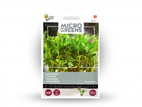 Buzzy Microgreens Markerbsen