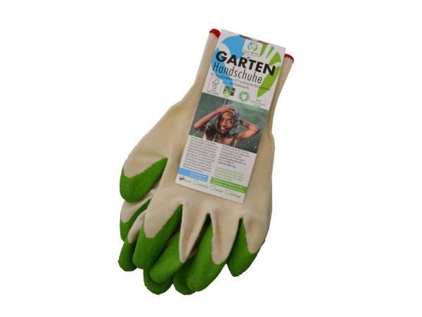 Gartenhandschuhe Green&Fair Bio Naturkautschuk S