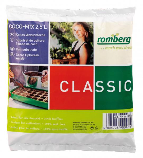 Kokossubstrat Romberg Anzuchterde 2,5 L